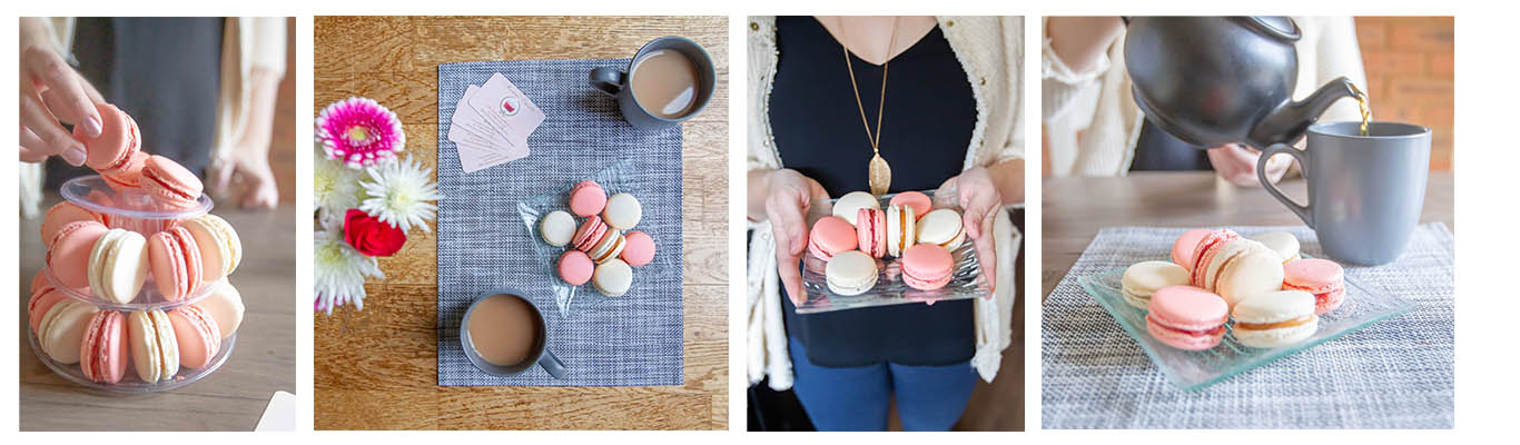 Macarons Versailles brand images